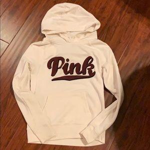 Pink cream sweatshirt